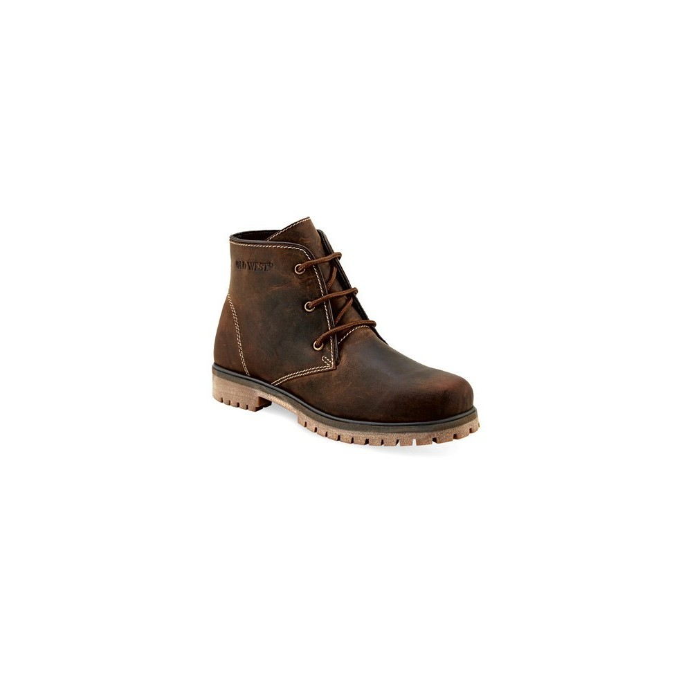 Old West OUTDOORS - 98205 Mens CITY Brown Outdoor Boots with TPR Outsole