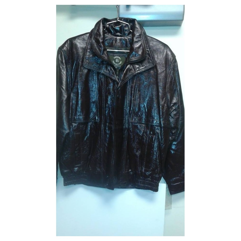 Bomber jacket Shinny Brown. B131BS