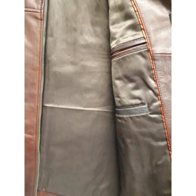 Men Casual jacket Organza brown