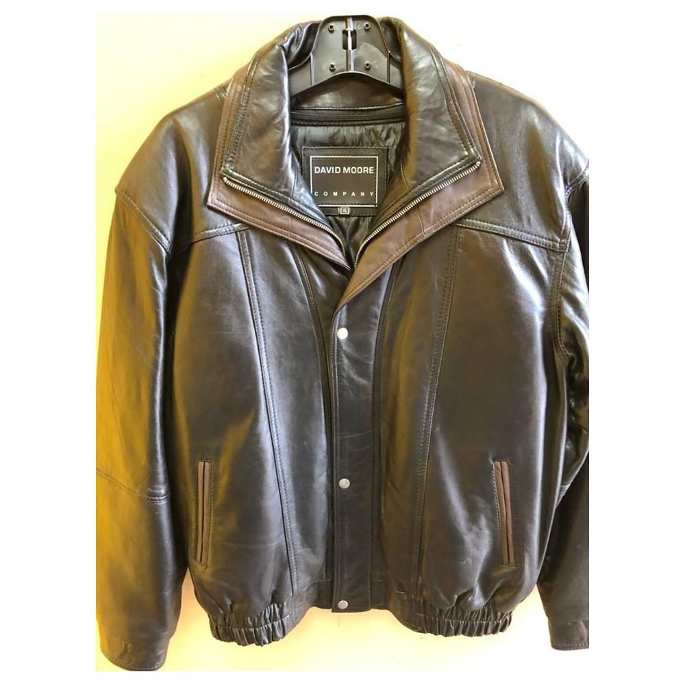 Leather bomber style jacket 47533