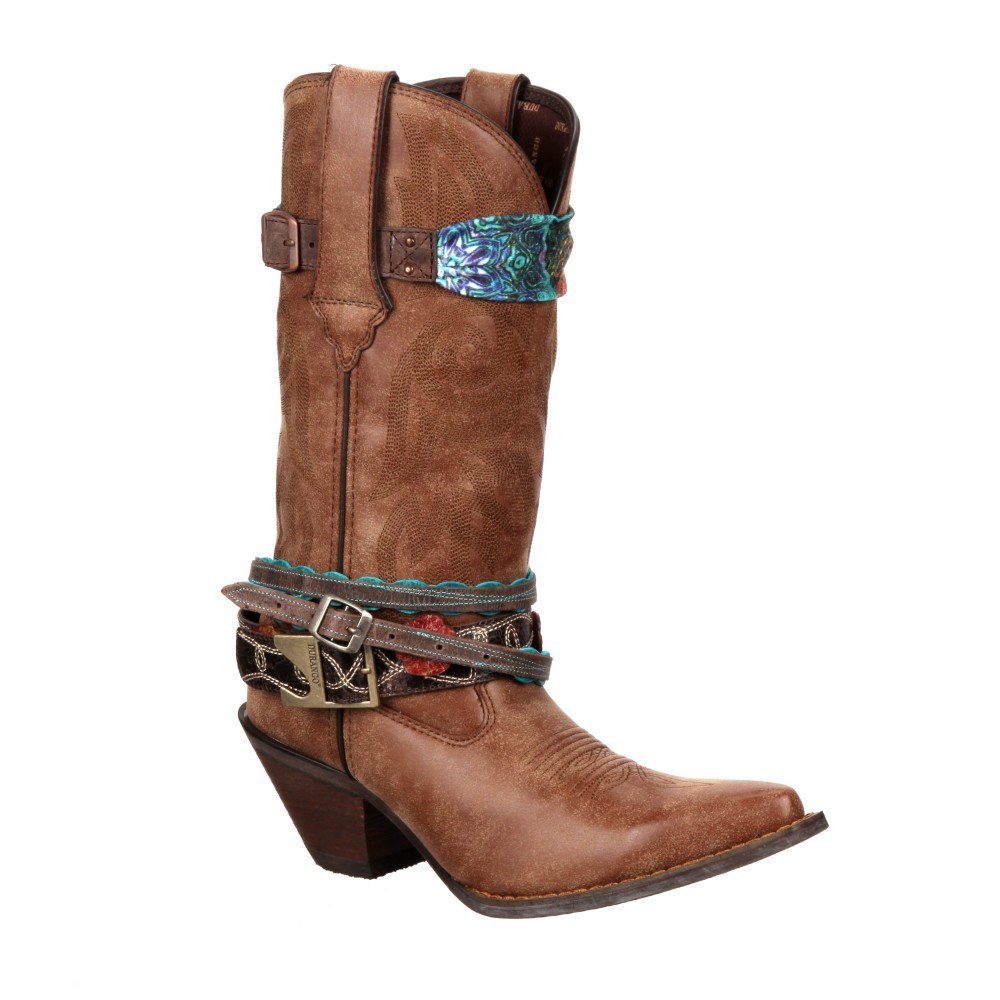 CRUSH BY DURANGO WOMEN'S ACCESSORIZED WESTERN BOOT