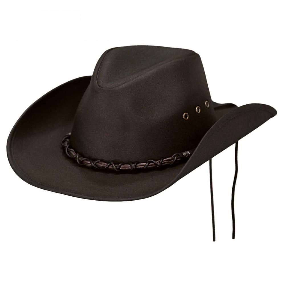 Outback's - BOOTLEGGER Hat black/brown
