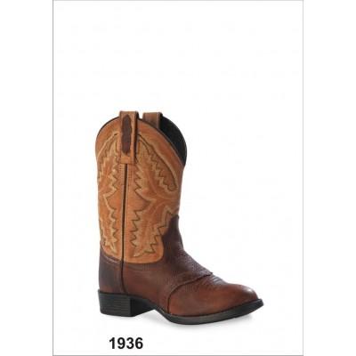 Old West Childrens 1936  Ultra Flex Western Boots
