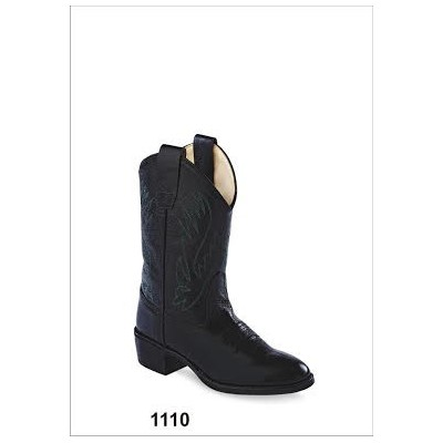 Old West 1110 Childrens western boot black