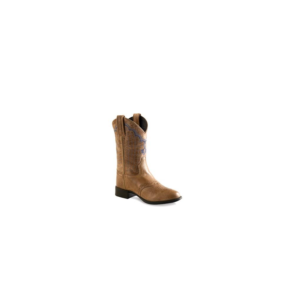 Old West 1936Y Youth Ultra-Flex Western Boots