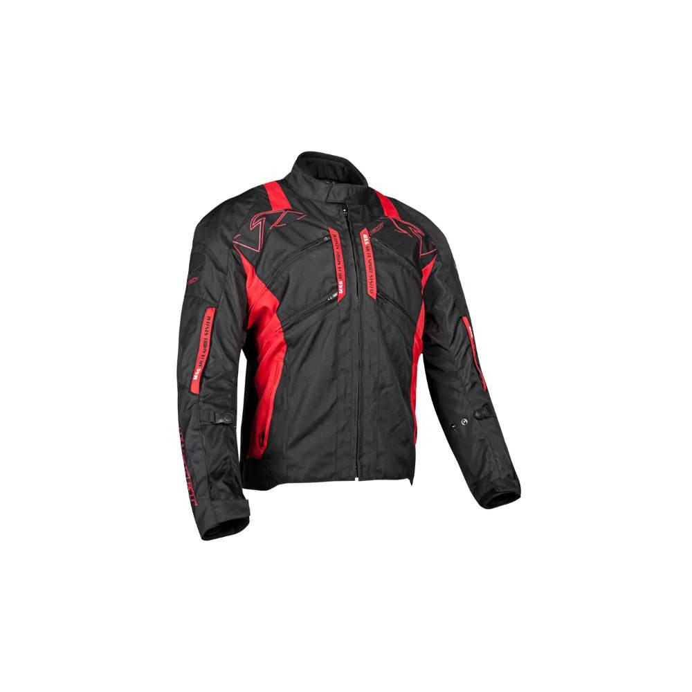 TRANS CAN TXT JKT BLK/RED SM