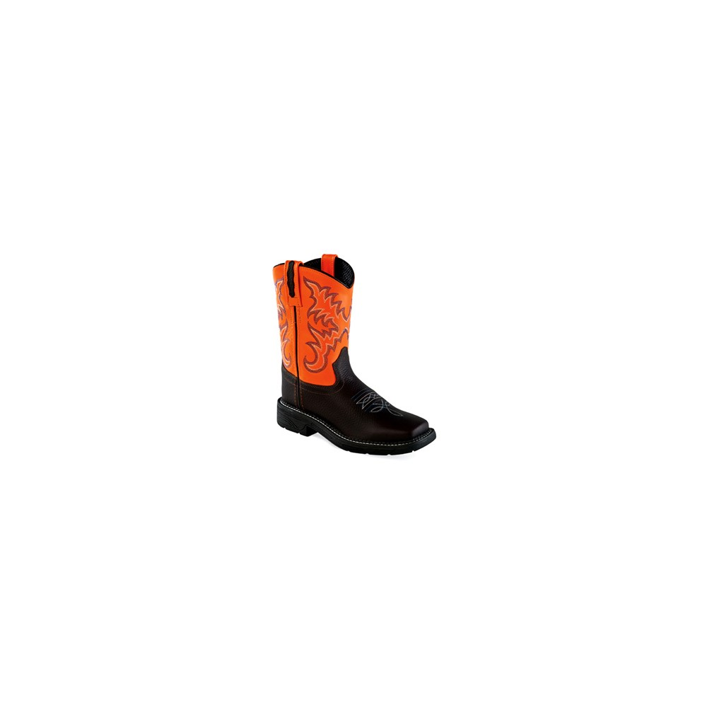 OLD WEST WB1003 Childrens Square Toe