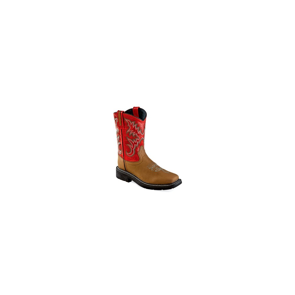OLD WEST WB1004 Childrens Square Toe