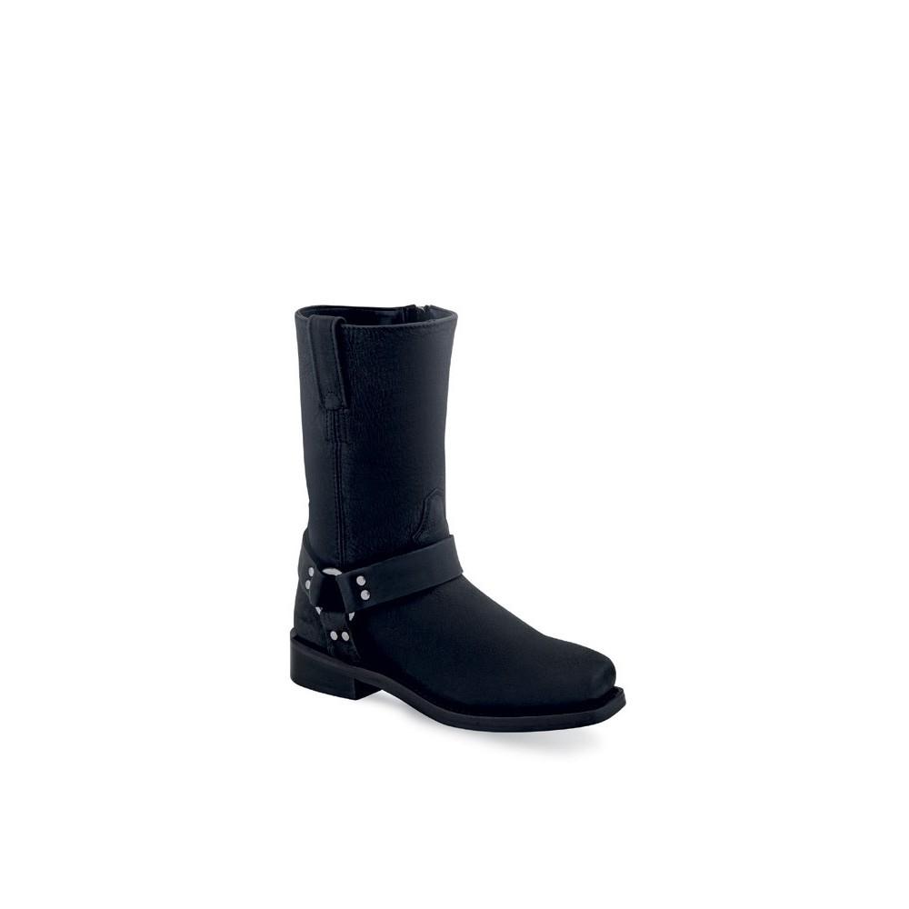 Children's Square-Toe Harness Boot CH1001