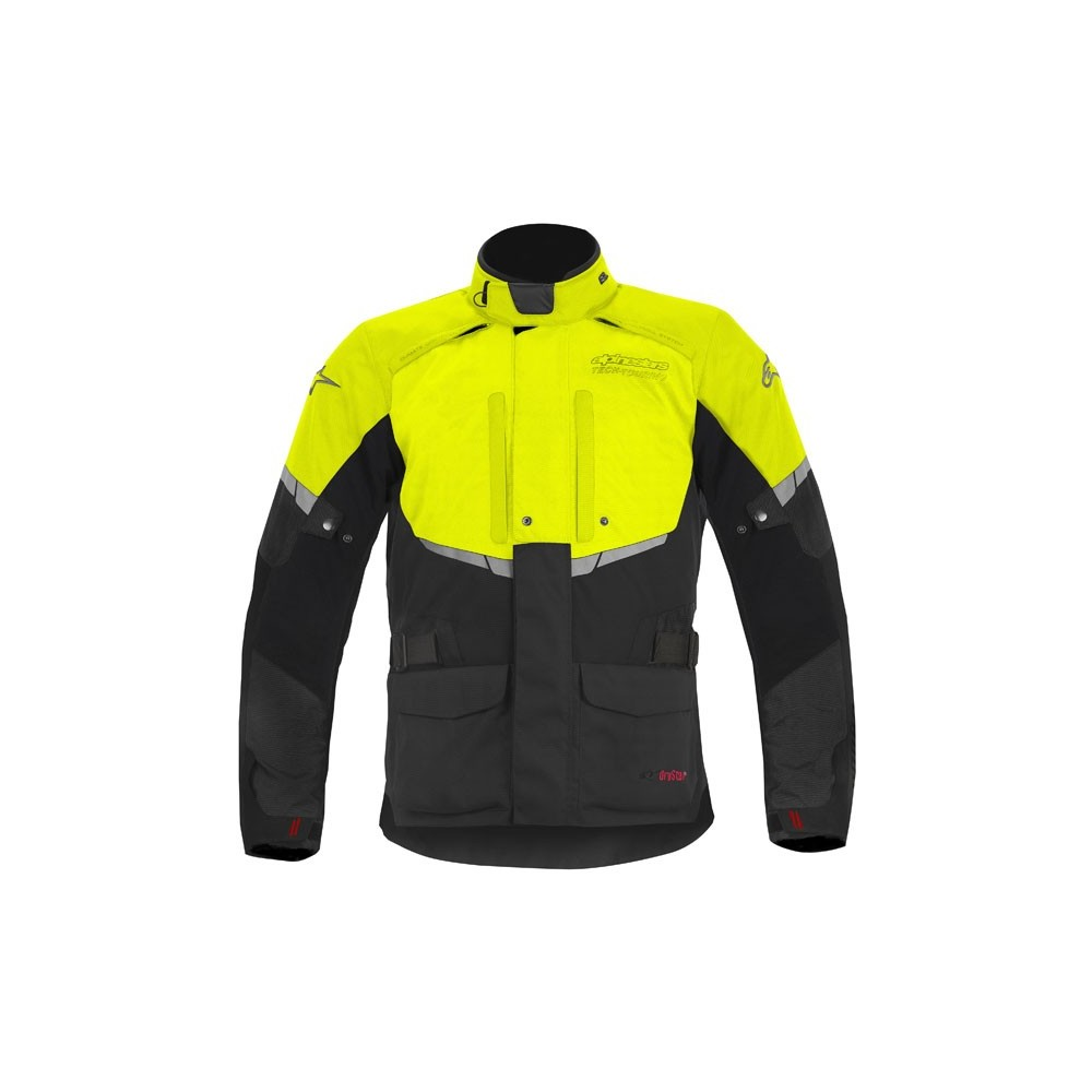 Alpinestars Andes Drystar Jacket Black/Yellow Fluo