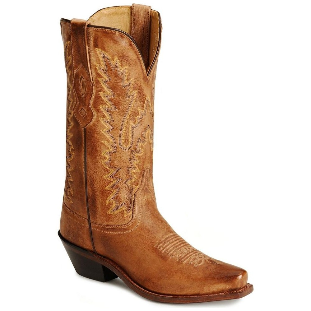Old West LF1529 - All Over Tan Canyon Ladies Boot