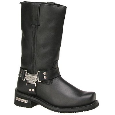 Women's 11″Inch Classic Harness Square Toe Boot